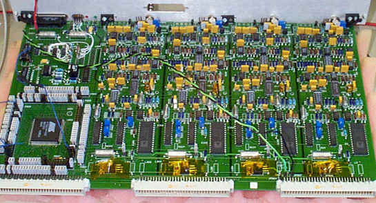 ACD Beam Test electronics board.