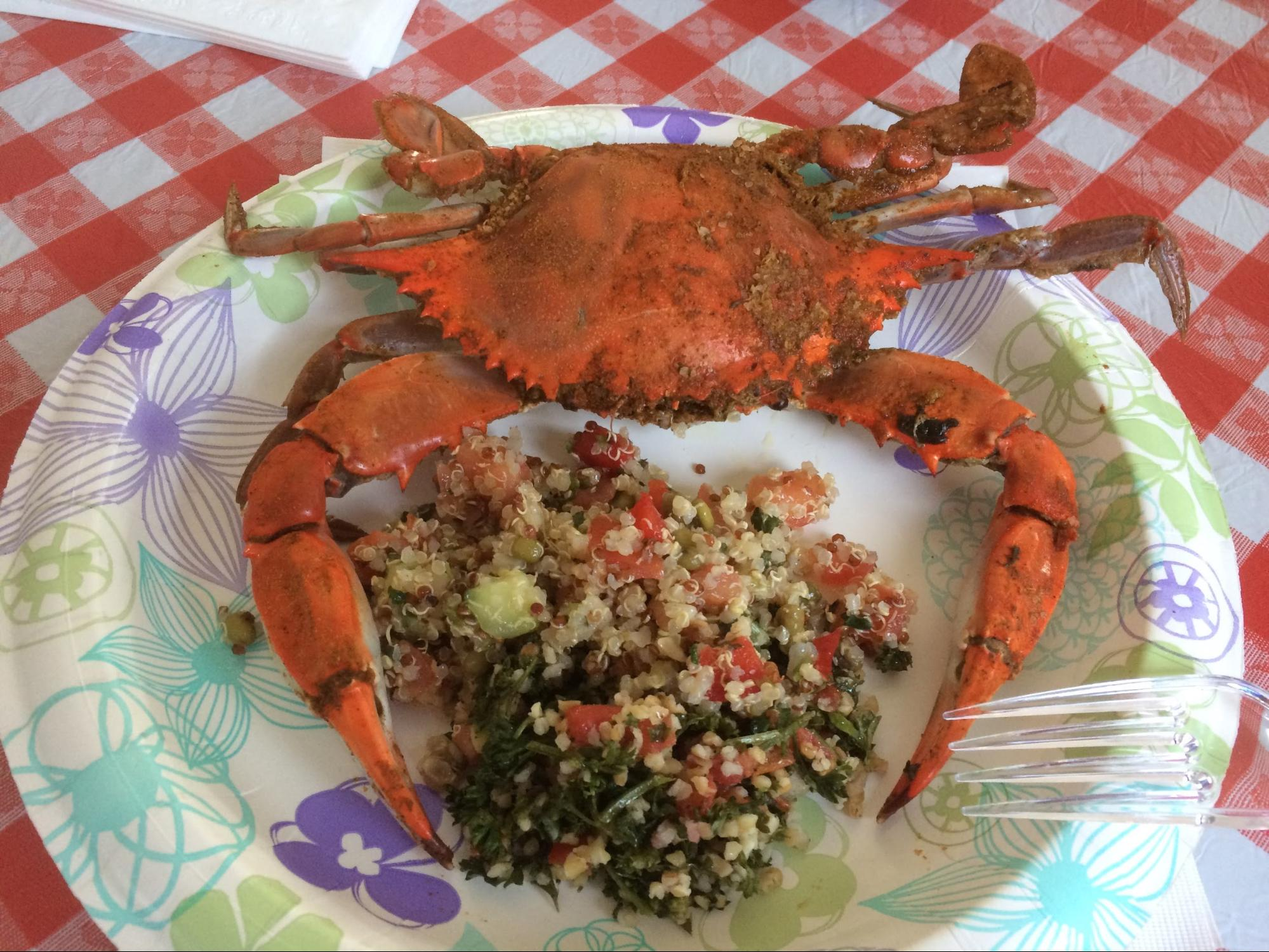 Crab Feast at the Fermi Summer School