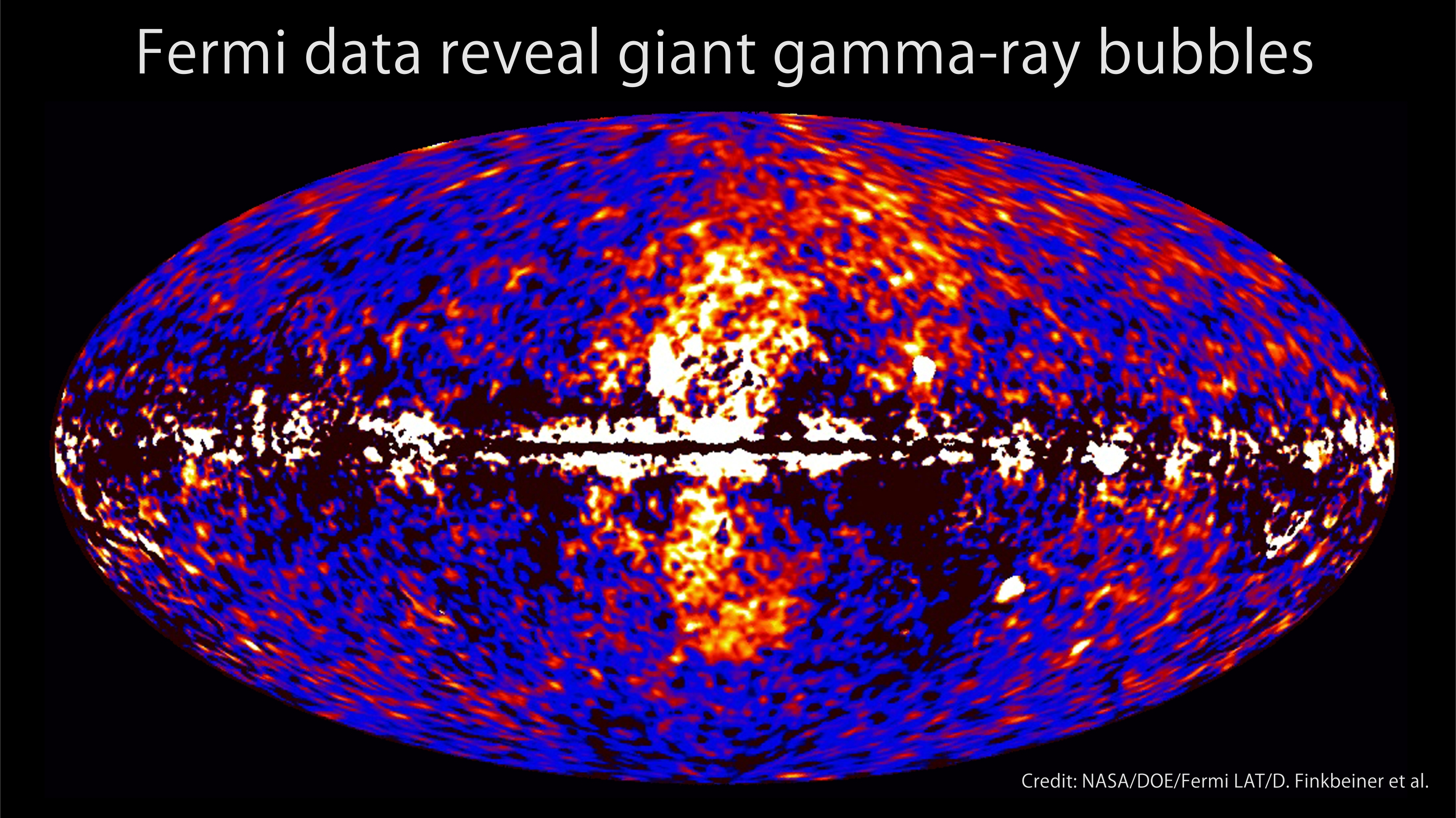 The leftover gamma-ray signal after subtracting a model for the expected diffuse emission, with additional data.