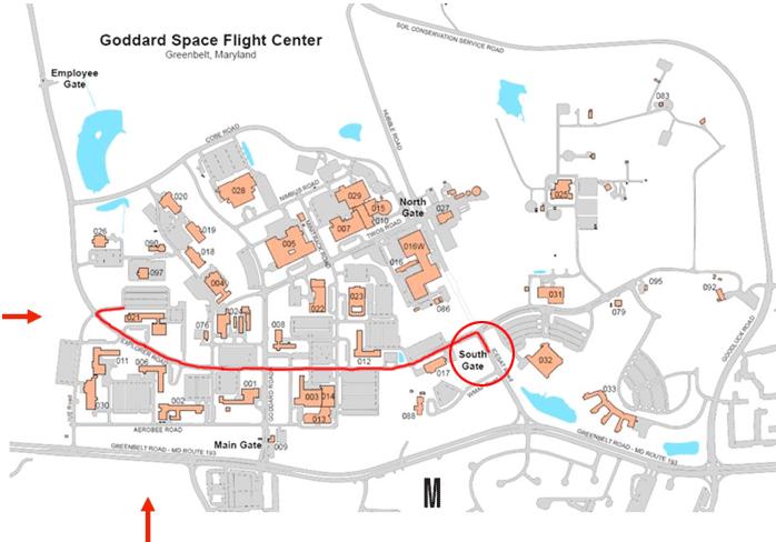 map of nasa space center in california - photo #44