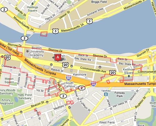 Fermi Data Analysis Workshop January Directions - Where is boston